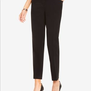 Vince Camuto Black Jogger Tapered Work Pant